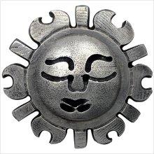 Metal Vintage Sun