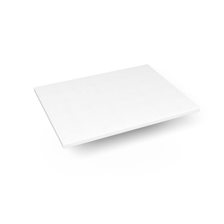 "Engineered Stone 25"" X 19"" X 3/4"" Quartz Dry Vanity Top In Quartz White"