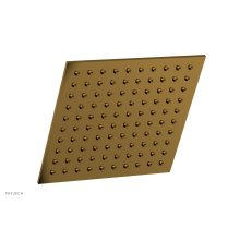 """8"""" X 8"""" Square Shower Head 3-333 - French Brass"""