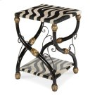 Zebra Accent Table Product Image