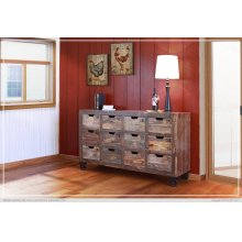 Multi-drawer Console w/12 numbered drawers