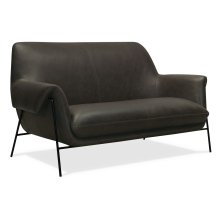 Living Room Ambroise Settee w/Metal Frame