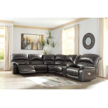 Hallstrung - Gray 6 Piece Sectional