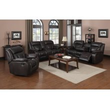 Hudson Brown Sofa, Loveseat and Recliner
