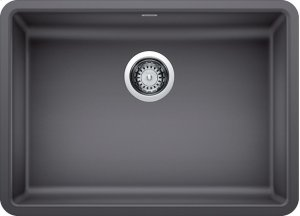 Blanco Precis Ada Single Bowl - Cinder Product Image