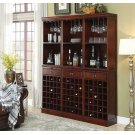 Classic Cherry Wall Bar Unit Product Image