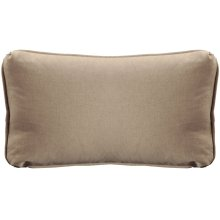 "Throw Pillows Knife Edge Kidney w/welt (12"" x 22"")"
