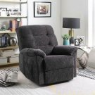 Casual Dark Grey Power Lift Recliner Product Image