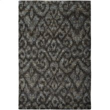 Thompson Ikat Midnight Slate Hand Knotted Rugs