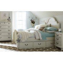 Inspirations by Wendy Bellissimo - Morning Mist Westport Platform Bed F 4/6