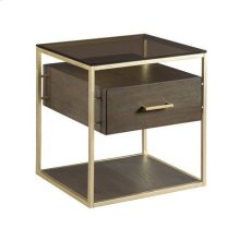 Essence Rectangular Drawer End Table