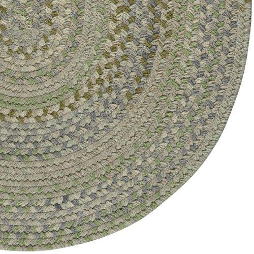 Fusion Botanical Green Braided Rugs