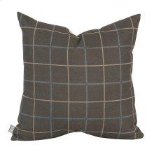 """20"""" x 20"""" Pillow Oxford Slate"""