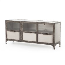Element Media Console-aged Nickel