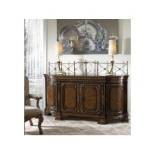 Credenza With Wood Top