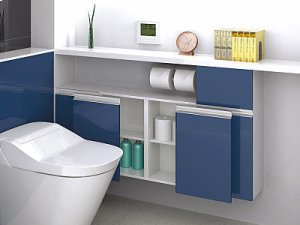 Lateral Opening System - Small Cabinet Doors Product Image