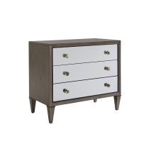 Divonne Mirrored Nightstand