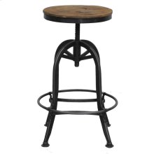 Akron Round Bar Stool