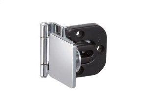 Half Overlay Glass Door Hinge (w/catch) Product Image