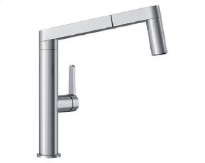 Blanco Panera Kitchen Faucet - Stainless Steel Product Image