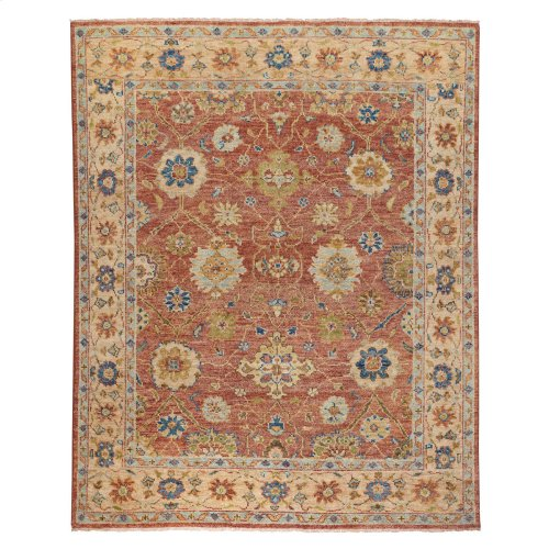 Charise-Ziegler TerraCotta Hand Knotted Rugs