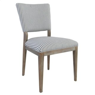 Phillip Dining Chair Blue and White Stripes
