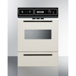 "Bisque Gas Wall Oven With Electronic Ignition, Digital Clock/timer, and Oven Window for Cutouts 22 3/8"" Wide By 34 1/8"" High Product Image"