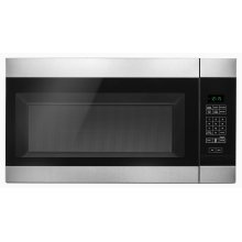 1.6 Cu. Ft. Over-the-Range Microwave with Add 0:30 Seconds Stainless Steel