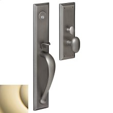 Lifetime Polished Brass Cody Full Escutcheon Trim