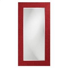 Lancelot Mirror - Glossy Red
