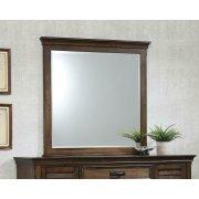 Franco Burnished Oak Dresser Mirror Product Image