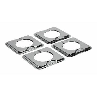 Square Gas Range Burner Drip Bowls - Other
