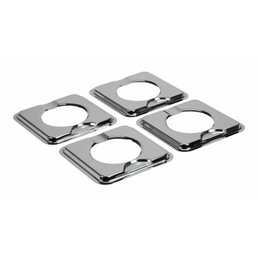 Square Gas Range Burner Drip Bowls - Other