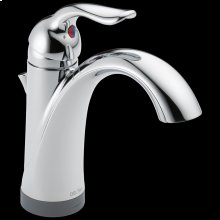 Chrome Single Handle Bathroom Faucet with Touch 2 O ® Technology