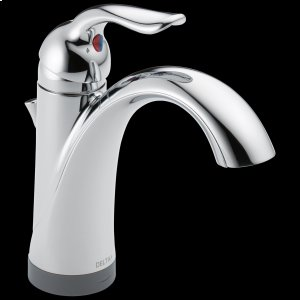 Chrome Single Handle Bathroom Faucet with Touch 2 O ® Technology Product Image