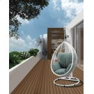 SIMONA WHITE HANGING CHAIR Product Image