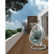 SIMONA WHITE HANGING CHAIR Product Image