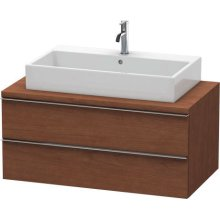 Happy D.2 Vanity Unit For Console, American Walnut (real Wood Veneer)