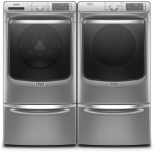 Smart Front Load Washer and Electric Dryer