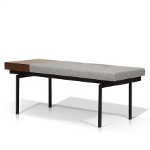 Lucie Modern Bench with Side Table