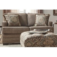 Malibu Canyon Buckhorn w/Tapestry Ocean Cliff Loveseat
