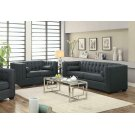 Cairns Transitional Charcoal Two-piece Living Room Set Product Image