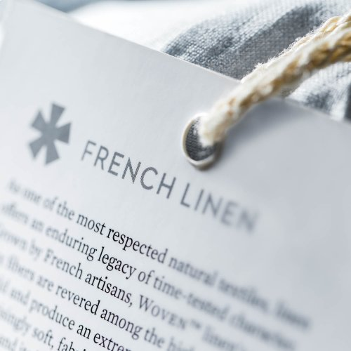 French Linen Cal King Smoke