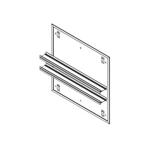 """Profiles 30"""" X 30"""" X 15/16"""" Mirror Ganging Kit for A Seamless Transition With Profiles Cabinets and Profiles Lighting (depth Is 4-11/16"""" When Surface-mounted) Product Image"""