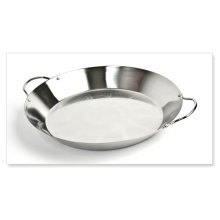 SPAE-  Paella Grill Pan, Stainless (4QT / 3.8L)