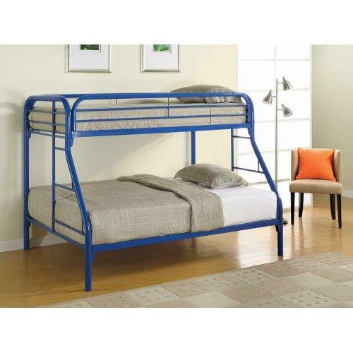 Morgan Twin-over-full Blue Bunk Bed