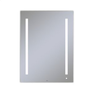 """Aio 29-1/8"""" X 39-1/4"""" X 1-1/2"""" Lighted Mirror With Lum Lighting At 4000 Kelvin Temperature (cool Light), Dimmable, Usb Charging Ports and Om Audio Product Image"""