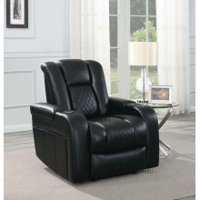 Delangelo Black Power Motion Recliner