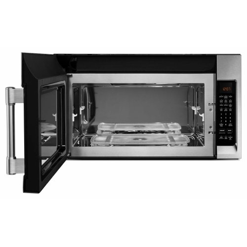 Over-The-Range Microwave With WideGlide Tray - 2.1 Cu. Ft. Fingerprint Resistant Stainless Steel