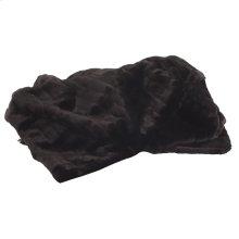 Throw Mink Black
